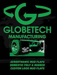 Globetech replaces Koneta Rubber mud flaps
